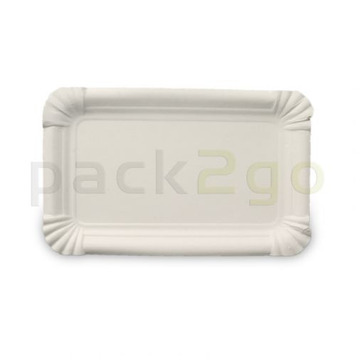 Kartonnen borden vierkant - 10 x 16 cm TOPKRAFT, papiercoating