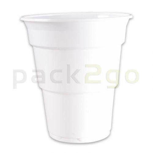 Kunststoff-Trinkbecher (Einweg-Kaltgetränkebecher) - 0,4l