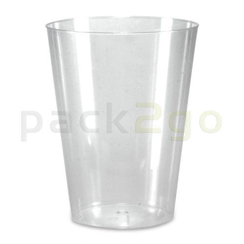 Plastic bekers, drinkbekers, PS spuitgegoten glashelder - 0,2 l