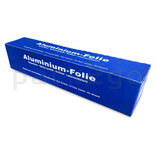 Aluminiumfolie, 45cm / 150m, aluminiumfolie 14my, in box