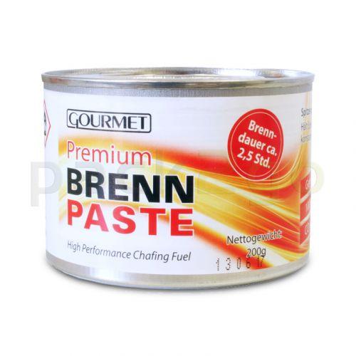 Profi- Brennpaste GOURMET 200g-Dose, Sicherheitsbrennpaste für Chafing Dish 2,5h