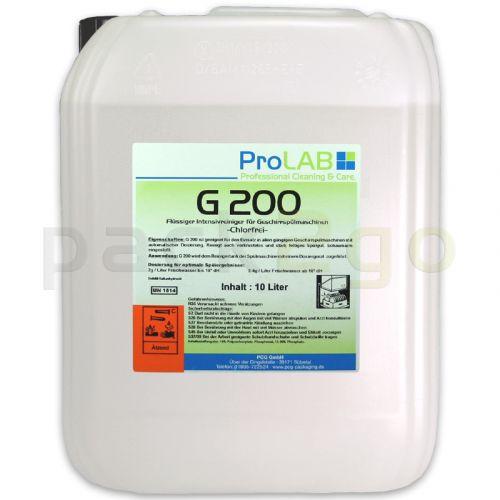 G-200 glansspoelmiddel voor spoelmachines - vloeibaar (ProLAB), 10l jerrycan