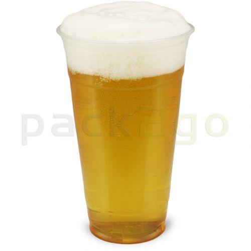 Clear Cups (Smoothie-Becher) - 20oz, 0,5L - Plastikbecher rPET