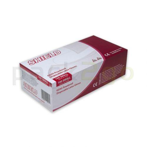 Latex-Handschuhe gepudert - Untersuchungshandschuhe LATEX COMFORT - M (7-8)
