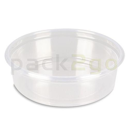 Feinkostbecher, Verpackungsbecher PS, rund, Ø 101mm - 125ml