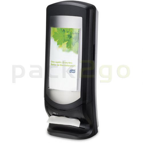 TORK-servetdispensers N4 Interfold staande en wanddispenser 272211, zwart