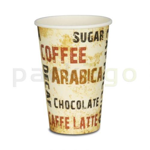 Kaffeebecher, Pappe