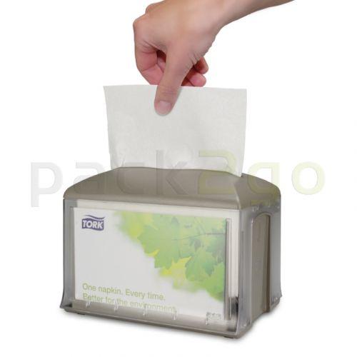 Dispenser servetten GOURMET Interfold Premium 2-laags hoogwit