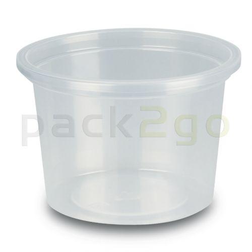 Feinkostbecher, Verpackungsbecher, PP, transparent, rund - 100ml