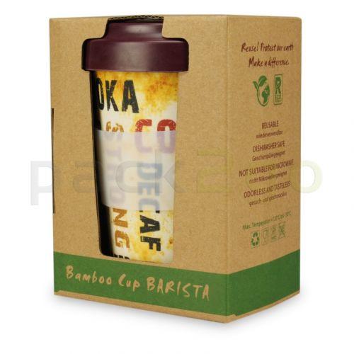 Mehrwegbecher aus Bambus, Kaffeebecher