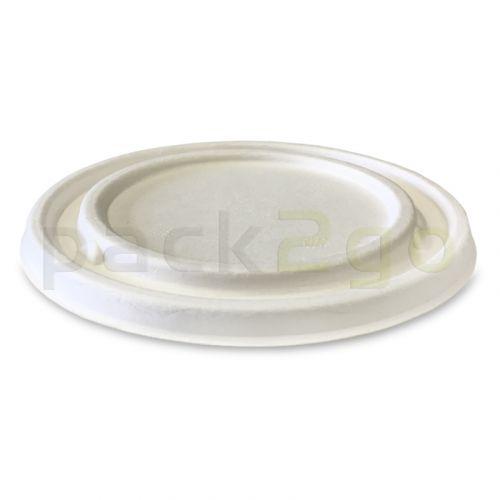 Zuckerrohr-Deckel für Soup To Go-Container - Ø105mm