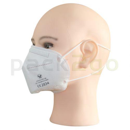 FFP2-Maske Seite