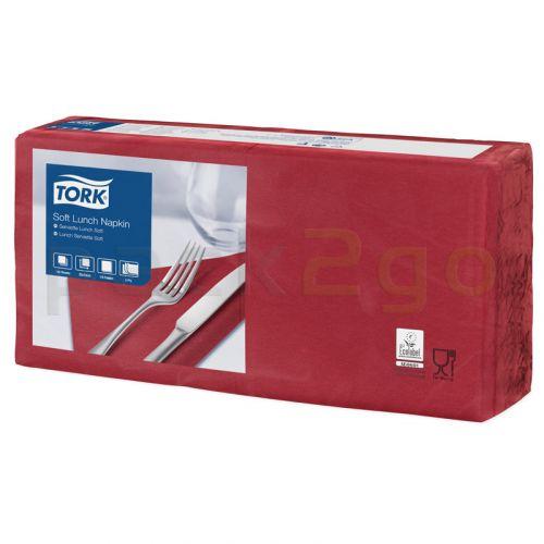 Tork Advanced tissue-servetten, 33x33 1/4, 3-laags, celstofservetten - bordeaux