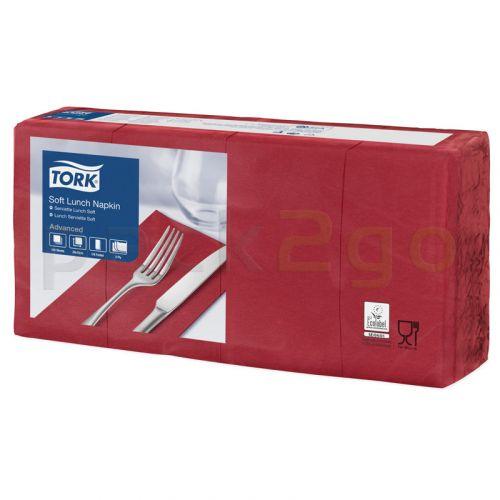 Tork Advanced tissue-servetten, 33x33 1/8, 3-laags, celstofservetten - bordeaux