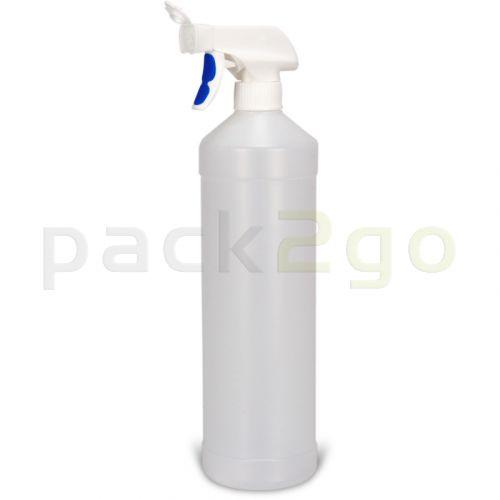 Profi-Sprühflasche 1 Liter für Glasreiniger u. chemische Reiniger zum Sprühen