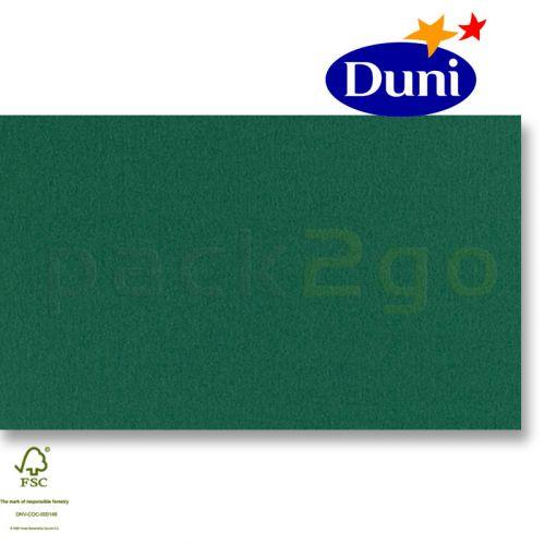 Dunilin-tête-à-têtes 84x84cm - jager groen (airlaid tafelkleed, textiel karakter) # 322508