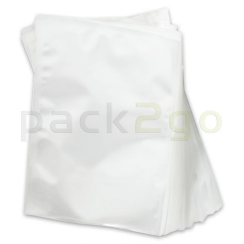 Siegelrandbeutel, Vakuumbeutel transparent - PA/PE 90my - 25x50cm