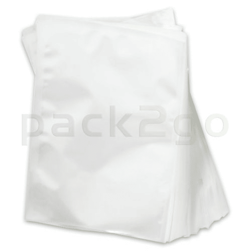 Siegelrandbeutel, Vakuumbeutel transparent - PA/PE 90my - 20x25cm