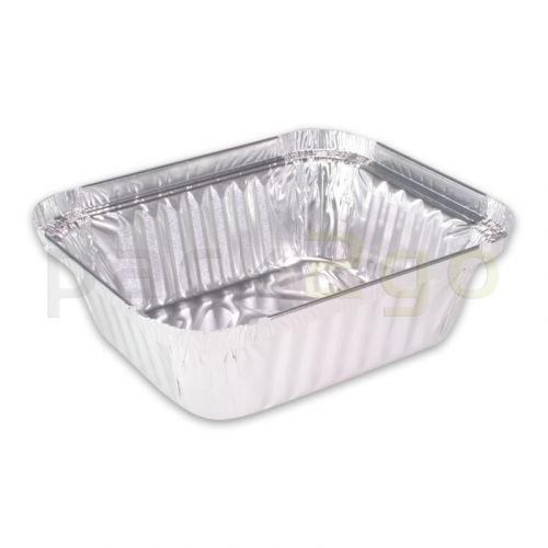 Aluminium bakjes - rechthoekig 187x137mm, 900ml, aluminium bakje R844L voor menu's