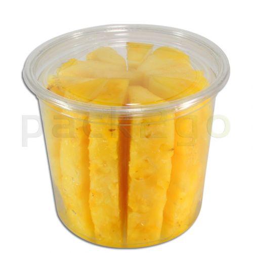 Deli Gourmet container, exclusieve, glasheldere US-delicatessenbeker - 24oz, 600ml