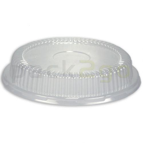 Dom-Deckel glasklar für geschäumte Beilagenschale B2
