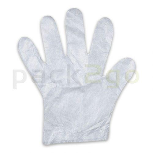 PE-Einmal-Handschuhe - L (Herrengröße) für Lebensmittel, transparent
