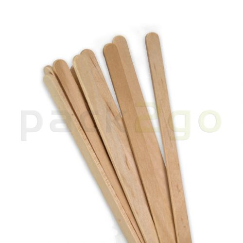 Holz-Rührstäbchen Standard 140mm, biologisch abbaubar, Kaffeerührstäbchen für Coffee To Go