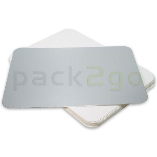 Alukaschierter Kartondeckel - 152x152mm zu Alubehälter R25L quadratisch