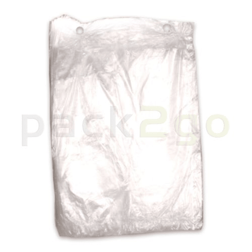 Poly-Flachbeutel LDPE, Gefrierbeutel transparent, T30 standard - 40x60cm