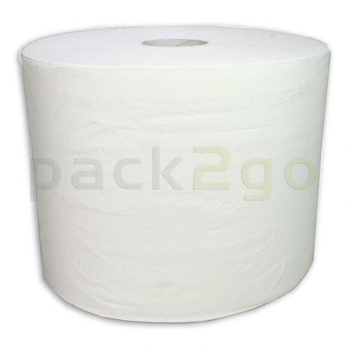 Putzrollen 2-lagig weiß 23x35cm, Putztuchrolle Eco 350m