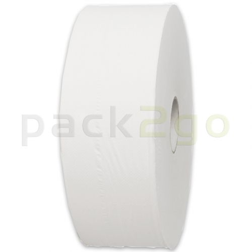 Toilettenpapier - Jumbo-Rolle, 2 lagig, ECO naturweiß T1 - 280m Großrolle