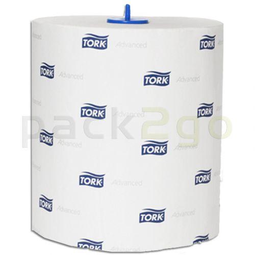 TORK Rollenhandtuch Premium, 2-lagig hochweiß TAD/Tissue, 150m-Rolle 290067 f.H1-System TorkMatic-Spender