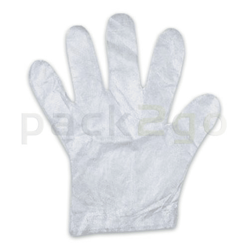 PE-Einmal-Handschuhe - M (Damengröße) für Lebensmittel, transparent