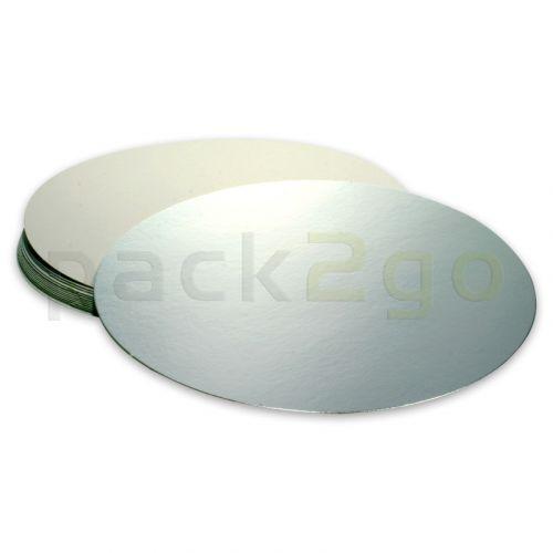 Alukaschierter Kartondeckel für runde Alu-Schalen - 185mm - C801L