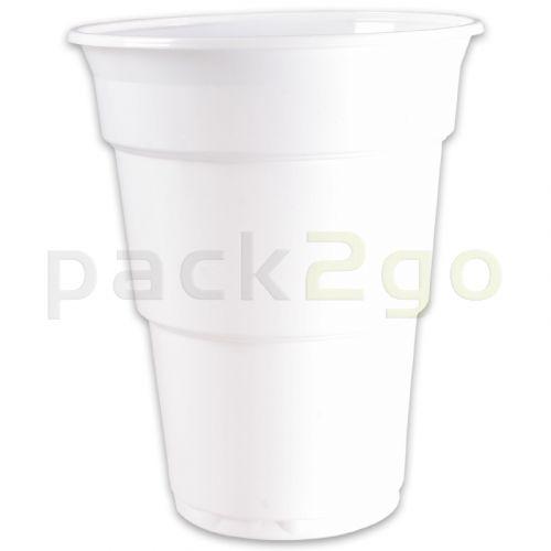 Kunststoff-Trinkbecher (Einweg-Kaltgetränkebecher) - 0,5l
