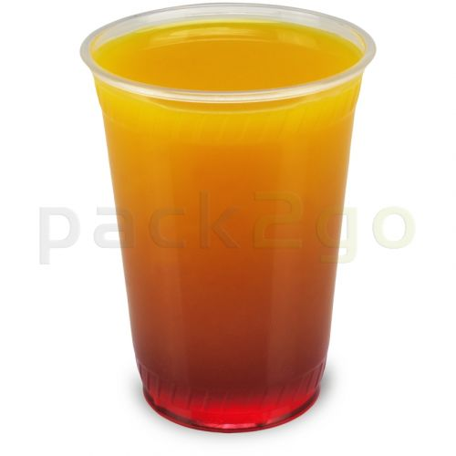Clear Cups (Smoothie Becher) PET 9oz, 0,2L (hohe, schlanke Form)