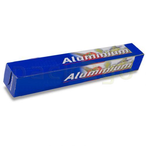 Aluminiumfolie, in box, 30cm / 30m kleine rol, aluminiumfolie 11my voor huishoudelijk gebruik
