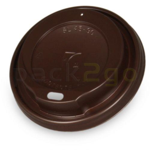 Coffee To Go Deckel 12/16/20oz, braun, Deckel f. Kaffeebecher 0,3-0,5L, Plastik