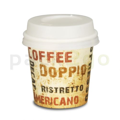 Espressobecher, Coffee to go Becher, Kaffeebecher Pappe,