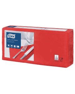 Tork Advanced tissue-servetten, 33x33 1/4, 3-laags, celstofservetten - rood