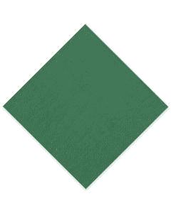Tissue-Servietten GOURMET, 33x33 1/4 Falz, 3-lagig - dunkelgrün - Zellstoffservietten farbige (jägergrün)