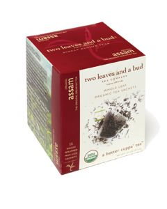 two leaves and a bud - Assam Bio Black Tea (schwarzer Tee)