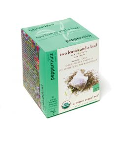 two leaves and a bud - Peppermint Bio Herbal Tea (Pfefferminztee)