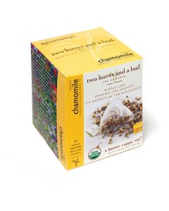 two leaves and a bud - Chamomille Bio Herbal Tea (Kamillentee)