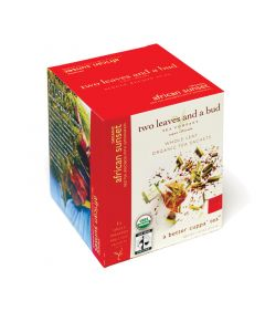two leaves and a bud - African Sunset Bio Rooibos Tea