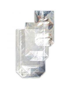 Zellglasbeutel (Kreuzbodenbeutel), Bodenbeutel, glasklares Zellglas (kompostierbar)