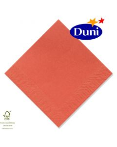 Duni Zelltuch-Servietten 40x40cm - Mandarin (Dunicel-Servietten, Tissue, 3-lagig) # 139669