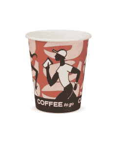"Kaffeebecher, Pappe, FSC-Zertifiziert, Coffee to go Becher ""Coffee Grabbers"" - 8oz, 200ml"