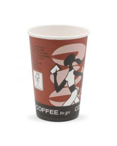 "koffiebekers, karton, coffee-to-go-beker ""Coffee Grabbers"" - 10oz, 250 ml"