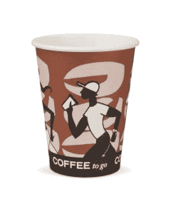 "Kaffeebecher, Pappe, FSC-Zertifiziert, Coffee to go Becher ""Coffee Grabbers"" - 12oz, 300ml"